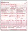 A CMS 1500 form