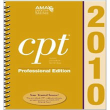 The CPT code manual - you should be very familiar with this!