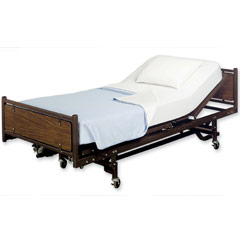 A hospital bed is a typical piece of durable medical equipment