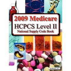 The HCPCS code book