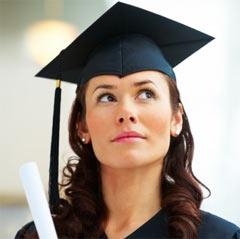 Try getting a degree in either healthcare administration or medical billing and coding