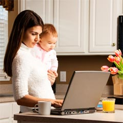 The goal: working from home. Set up a trial with your boss so that they can see that you perform with the same productivity as in the office