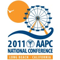 AAPC conferences are held every year. This is a poster for one that was held in 2011