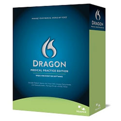 Dragon medical, one of the most popular voice recognition software packages for healthcare professionals