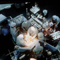 Anesthesia is frequently used for complex surgeries. Image copyright National Institutes of Health