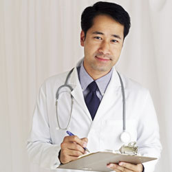 The claims adjudication process sometimes involves a medical review by healthcare professionals