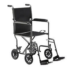 A wheelchair is also a typical piece of durable medical equipment