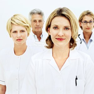 Medical office team members and how they interact