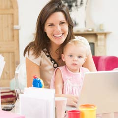 Online schools might be better if you need flexibility in your schedule - for example if you need to look after children